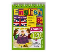 Умный блокнот Айрис ПРЕСС English Семья (Family) Уровень 1