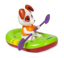 Игрушка для ванной Tomy Щенок на лодке