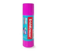 Клей-карандаш ErichKrause Magic 15г Фиолетовый