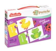Пазл Десятое королевство Baby toys Учим цвета Парные