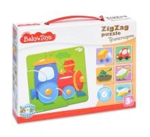Пазл Десятое королевство Baby toys Транспорт Зигзаг