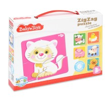 Пазл Десятое королевство Baby toys Домашние животные Зигзаг