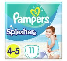 Трусики для плавания Pampers Splashers 4-5 9-15кг 11шт