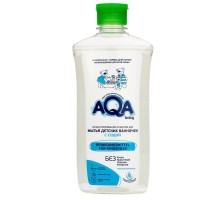 Средство для мытья ванночек AQA baby концентрированное с содой 500мл