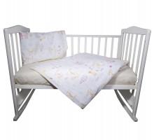 Комплект постельного белья Babyton Кошкин дом 3пр