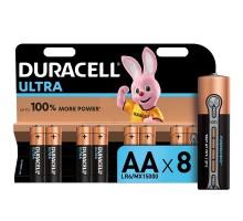 Батарейки Duracell Ultra AA/LR6 8шт