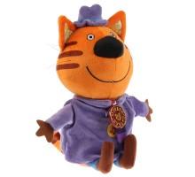 Игрушка мягкая Мульти-Пульти 3 кота Папа Кот