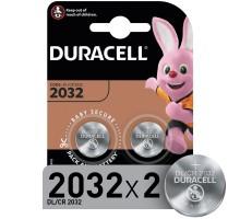Батарейки Duracell 2032 3V 2шт