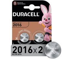 Батарейки Duracell 2016 3V 2шт