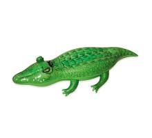 Игрушка надувная Bestway для катания верхом Крокодил