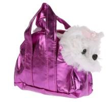 Игрушка мягкая Мульти-Пульти Болонка в сумочке