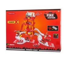 Игрушка Mobicaro Парковка Пожарная часть 66 деталей