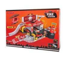 Игрушка Mobicaro Парковка Пожарная часть 50 деталей