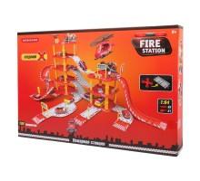 Игрушка Mobicaro Парковка Пожарная часть 100 деталей