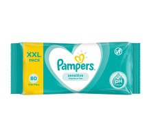 Cалфетки влажные Pampers Sensitive Value 80шт