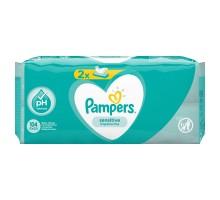 Cалфетки влажные Pampers Sensitive Duo 104шт