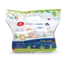 Салфетки влажные Baby Go с ромашкой и витамином Е 2*72шт
