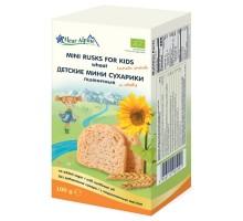 Сухарики Fleur Alpine Органик мини пшеничные 100г с 3лет