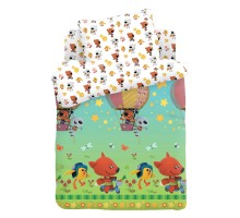Комплект постельного белья Ми-ми-мишки Воздушный шар 3предмета