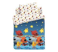 Комплект постельного белья Ми-ми-мишки Ночное небо 3предмета