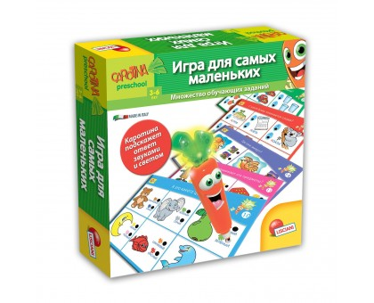 Игра развивающая LISCIANI Для самых маленьких с морковкой интерактивной