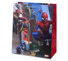 Пакет подарочный Феникс Презент Дисней Человек-паук 26*32*13см 140г/м2
