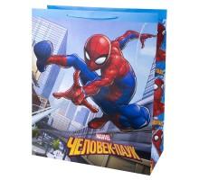 Пакет подарочный Феникс Презент Дисней Человек-паук 41*49*19см 157г/м2