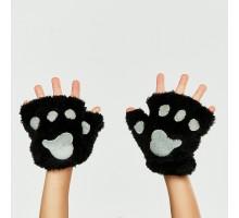 Перчатки Attivio без пальцев Черный