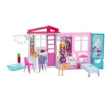Дом Barbie с мебелью и аксессуарами