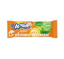 Батончик Агуша яблоко-банан 15г