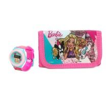 Набор Barbie часы+кошелек