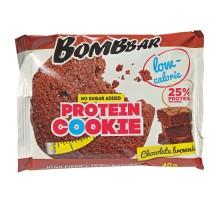 Печенье Bombbar протеиновое Шоколадный брауни 40г