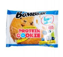 Печенье Bombbar протеиновое смородина-черника 40г