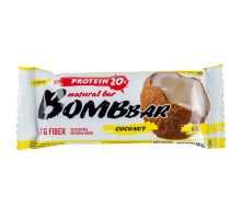 Батончик Bombbar протеиновый кокос 60г
