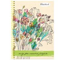 Скетчбук Prof Press Букет полевых цветов А5 64л