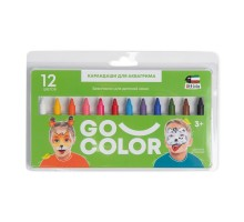 Аквагрим Attivio карандаши 12цветов