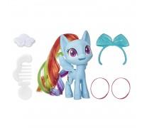 Набор игровой My Little Pony Волшебная пони Рейнбоу Дэш с расческой E97625L0