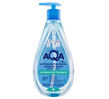 Мыло жидкое AQA baby антибактериальное 400мл