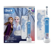Зубная щетка Oral-B Холодное сердце 2 электрическая с чехлом и насадкой