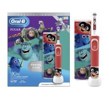 Зубная щетка Oral-B Pixar электрическая с чехлом и насадкой