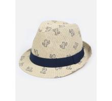 Шляпа Futurino бежевая