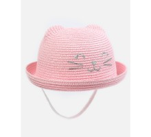 Шляпа Futurino светло-розовая