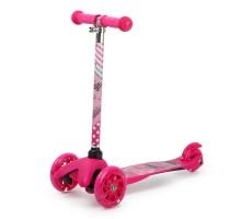 Самокат Kreiss Barbie 3колесный