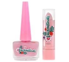Набор косметики для девочек Милая леди Энчантималс лак и розовая помада