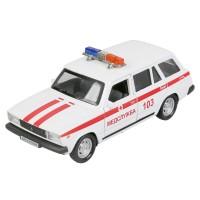 Машина Технопарк ВАЗ-2104 Жигули Скорая помощь