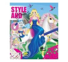 Блокнот дизайнера Style and Smile Изящные лошадки 23*26см