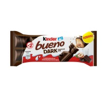 Вафли шоколадные Kinder Bueno Dark 43г