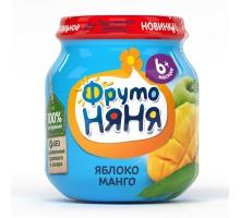 Пюре ФрутоНяня яблоко-манго 100г с 6месяцев