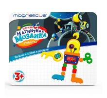 Мозайка магнитная MAGNETICUS Роботы