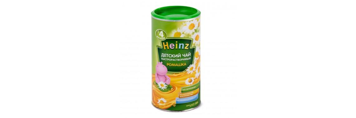 Чай детский Heinz ромашка 200г с 4месяцев